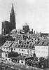 Vue de la Cathédrale de Strasbourg avant 1918