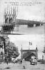 Strasbourg les Ponts du Rhin près de Kiel. carte écrite le 23/04/1922