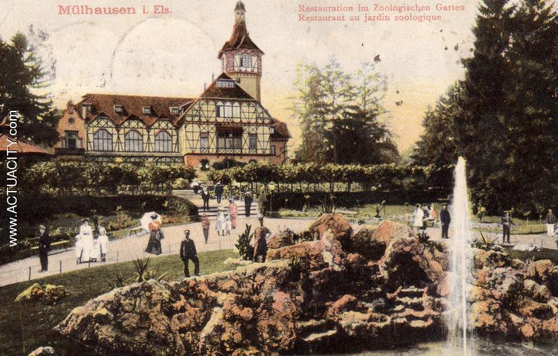 Cartes postales anciennes de mulhouse 68100 actuacity - Restaurant terrasse jardin grenoble mulhouse ...