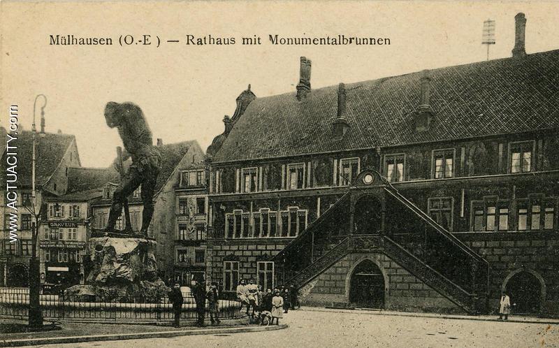 Cartes Postales Anciennes De Mulhouse  68100