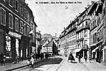 rue des Clefs et Hôtel de Ville