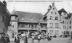 Colmar le Kaufhaus et la fontaine Schwendi avant 1918