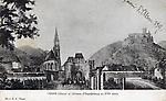 Thann( Alsace) et château d`Engelsbourg au XVIe siècle.