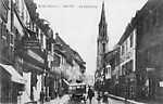 Thann, Haut-Rhin, La Grande Rue avant  la guerre de 14-18