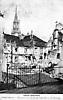 Thann, Haut-Rhin, Guerre 1914-1916. Une partie de la rue Curiale, bombardée par les Allemands