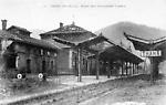 Thann, Haut-Rhin, Alsace Aspect de la Gare pendant la guerre (1914-18)