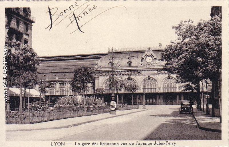 Cartes postales anciennes de lyon 69000 actuacity - Bureau de poste lyon part dieu ...