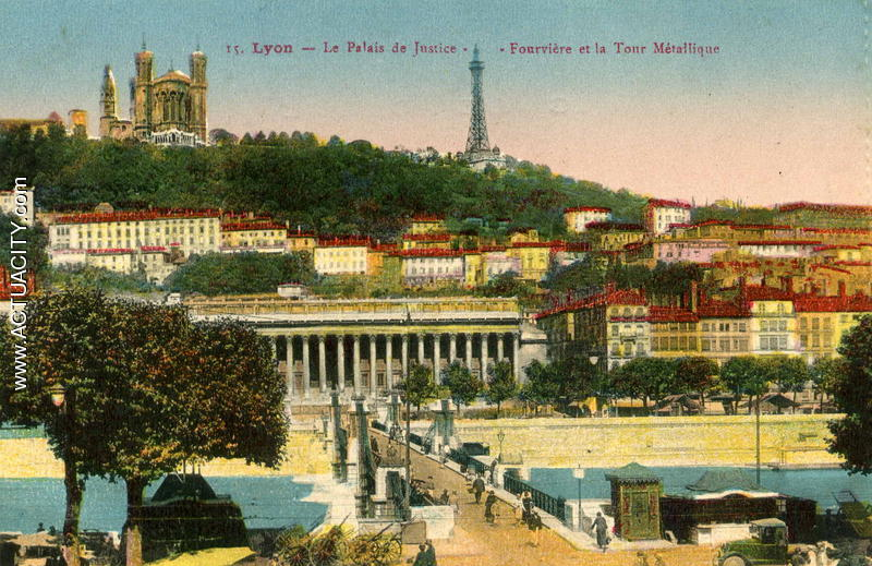 Populaire Cartes postales anciennes de Lyon (69000) - Actuacity AM27