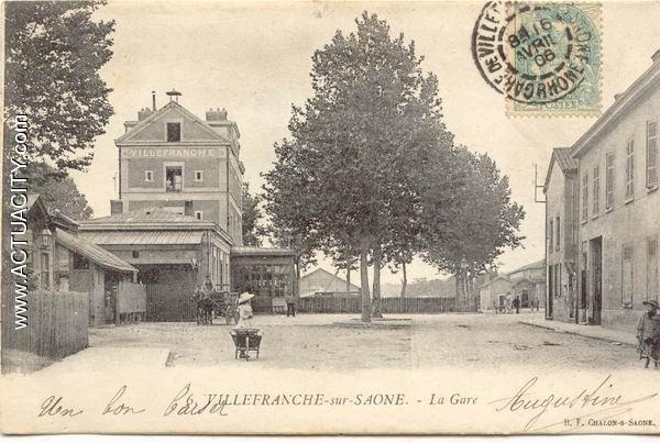 Cartes postales anciennes de villefranche sur sa ne 69400 - Location garage villefranche sur saone ...
