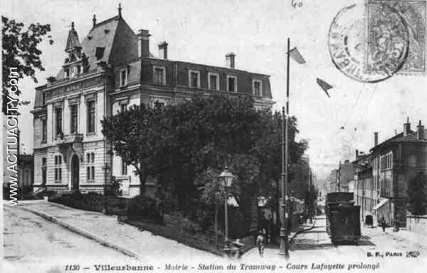 Cartes postales anciennes de villeurbanne 69100 actuacity - Bureau de poste villeurbanne ...
