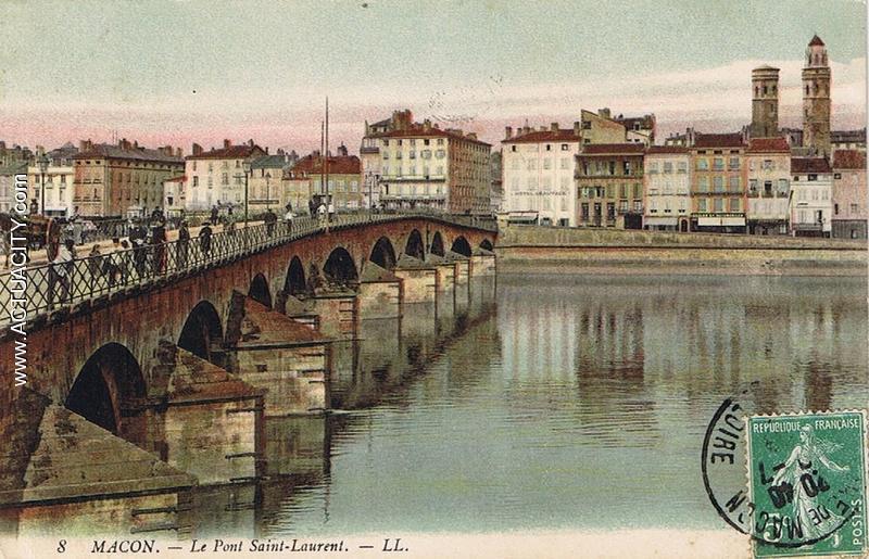 Cartes Postales Anciennes De M U00e2con  71000