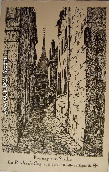 ruelle du cygne Fresnay sur Sarthe