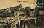 N&B-45-Le pont en X sur la Sarthe près du Tunnel