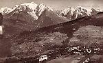 Combloux et le Mont Blanc