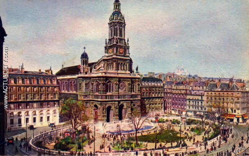 Cartes Postales Anciennes De Paris  75000