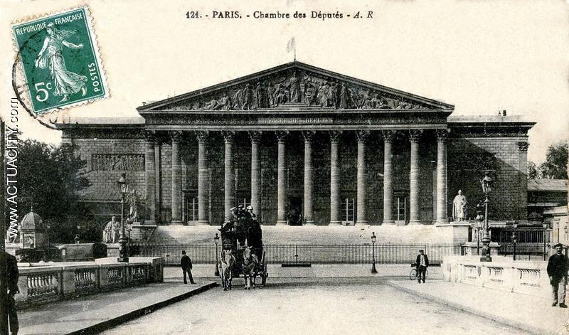 Cartes postales anciennes de paris 75000 actuacity for Chambre de commerce internationale de paris