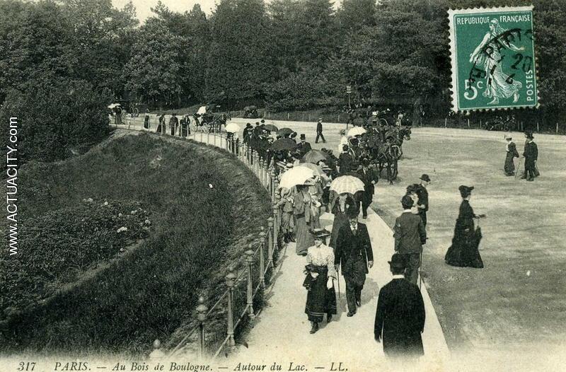 Cartes postales anciennes de Paris (75000)  Actuacity ~ Gym Bois De Boulogne