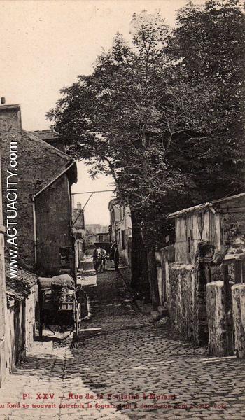 Cartes postales anciennes de paris 13e arrondissement for Bureau de poste 13 rue d anjou