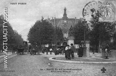 Cartes postales anciennes de paris 11e arrondissement for Garage paris 11e
