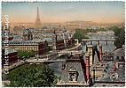 Paris - Panorama sur sept ponts