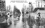 inondations de 1910 rue Rémusat