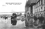 inondations de 1910 quai de Passy