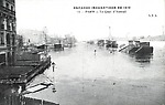 inondations de1910 quai d'Auteuil
