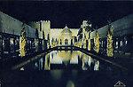 Exposition coloniale — Bois de Vincennes — Illuminations — Le Théâtre d'eau sur le lac Daumesnil (A.