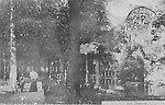 Le Parc Monceau et la Naumachie en 1903 [cachet de la poste]