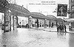 Crue de la Seine en 1910 — Boulevard de Grenelle