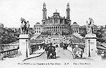 Le Trocadéro et le Pont d'Iéna, vers 1900
