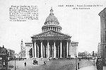 Le Panthéon et Saint-Étienne-du-Mont vers 1900