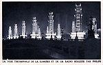 Exposition coloniale de 1931?  — La voie triomphale de la lumière et de la radio (H. Favier, Archit