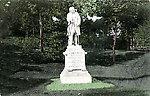 Jardin des Plantes vers 1910 — La statue de Chevreul