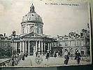 L'institut de France depuis la passerelle des Arts