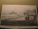 Inondations de janvier 1910 : Barrage Quai Malaquais
