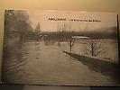 Crue de janvier 1910 : La Seine au pont des Saints Pères
