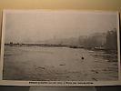 Crue de janvier 1910 : Le pont des Saints Pères