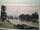 Pont des Arts, Cité, depuis la rive droite de la Seine.
