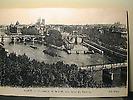 Ile de la Cité prise depuis le Louvre. A droite le barrage de la Monnaie.