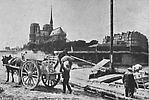 Quai de la  Tournelle et Notre Dame
