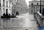 La Crue de la Seine Rue de Lille, Ravitaillement des Habitants