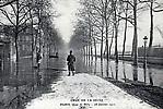 La Crue de la Seine Quai de Billy