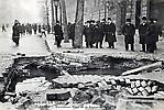 La Crue de la Seine L'Excavation à la Place de la Concorde