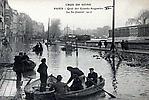 La Crue de la Seine Le Quai des Grands Augustins