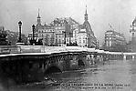 La Crue de la Seine Le Pont Neuf
