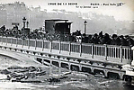 La Crue de la Seine Le Pont de Sully