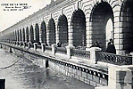 La Crue de la Seine Le pont de Bercy