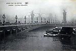 La Crue de la Seine Le Pont Alexandre