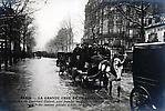 La Crue de la Seine Le Boulevard de Diderot complétement inondé